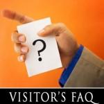 Visitors FAQ