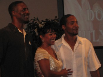 Don Brown and Mia Queen united in holy matrimony by      Pastor Anthony Blackman