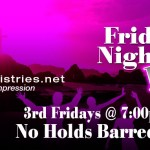 3rd Friday: Friday Night Live!